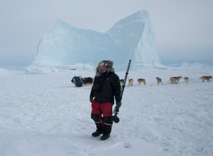 Orvar- Photographing Inuit Hunters in Winter-Scoresby Sound Greenland